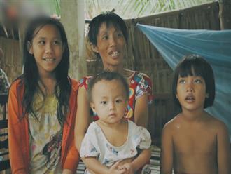 """5 đứa trẻ đói ăn bên người mẹ khờ mang bụng bầu 7 tháng: """"Con không muốn mẹ sinh em nữa, nhà con nghèo lắm rồi"""""""