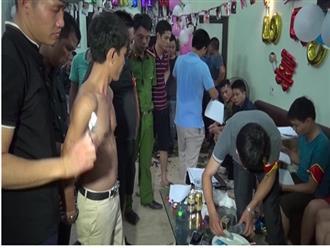 50 nam nữ tổ chức tiệc ma túy đêm trong trang trại