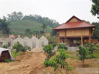 """Ai """"chống lưng"""" cho khu du lịch sinh thái trái phép ở Thái Nguyên?"""