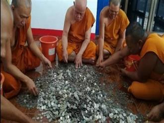Ăn xin, nhặt rác bất ngờ tặng nhà chùa gần 60 triệu đồng trước khi mất