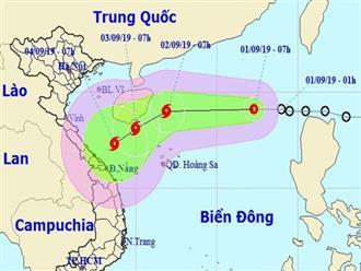 Áp thấp nhiệt đới trên Biển Đông có khả năng mạnh lên thành bão, hướng vào miền Trung