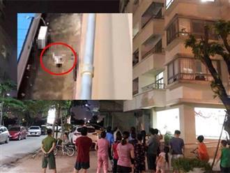 Hà Nội: Nghe tiếng cháu khóc nhưng phòng khóa trái, bà nội trèo ban công sang kiểm tra thì rơi từ tầng 16 tử vong