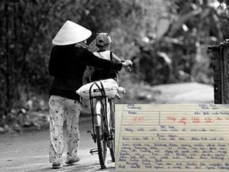 Ngày 20/10: Bài văn tả mẹ đạt điểm 10 dài chỉ 1 trang giấy của đứa trẻ mồ côi khiến người đọc bật khóc ngay từ dòng đầu tiên