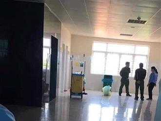 Quảng Ninh: Bàng hoàng phát hiện thi thể trẻ sơ sinh trong thùng rác nhà vệ sinh
