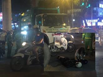 Hà Nội: Bàng hoàng clip xe chở rác cán qua người nữ sinh sau va chạm