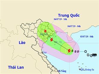 Bão số 2 sẽ đổ bộ vào Quảng Ninh đến Nam Định, mưa to khắp nơi
