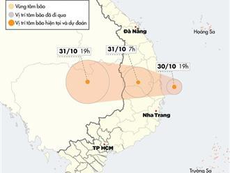 Bão số 5 suy yếu thành áp thấp nhiệt đới khi vào đất liền, Trung bộ mưa lớn