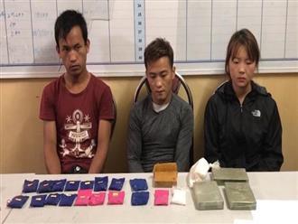 Bắt 3 đối tượng, thu hơn 3.000 viên ma túy tổng hợp
