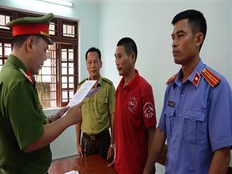 Bắt tạm giam 3 người đốt ong gây cháy rừng kinh hoàng ở Hà Tĩnh