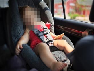 Bé gái 11 tháng tuổi chết thương tâm vì bị mẹ bỏ quên trên ô tô