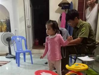 Bé gái 3 tuổi xinh như thiên thần ngơ ngác tìm người thân sau khi bị bỏ rơi trước nhà dân