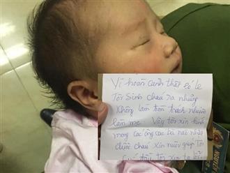 Bé gái 6 ngày tuổi bị bỏ rơi trong thùng giấy cùng lá thư của mẹ: 'Xin nuôi giúp tôi, cúi đầu tôi xin tạ lỗi'