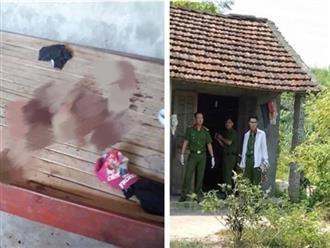 Bé gái khóc, ôm cổ đầy máu chạy ra khỏi nhà ở Phú Thọ