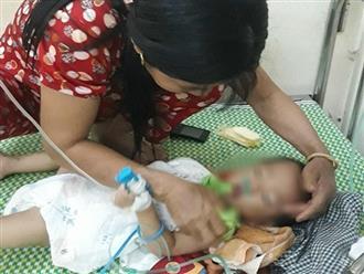 Bé trai 19 tháng tuổi ở Vĩnh Phúc hôn mê sau 2 tiếng bị bố mẹ để quên trên ô tô