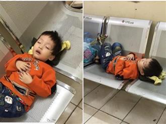 Bé trai 3 tuổi bị mẹ bỏ rơi trong nhà nghỉ ở Hà Nội