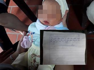Mẹ bỏ rơi con trai khoảng 1 tháng tuổi trước cổng chùa kèm tâm thư: 'Nhờ ông bà nào đó nuôi giúp cháu nên người'
