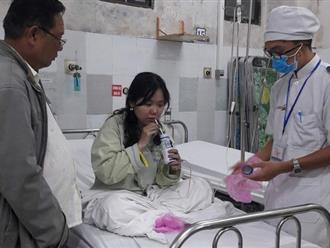 Bệnh viện phát sữa, điều trị miễn phí cho nạn nhân vụ cháy chung cư Carina Plaza