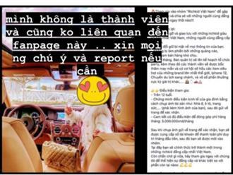 """Bị cho là """"con nhà giàu đăng tuyển người chơi chung"""", nữ doanh nhân kiêm Richkid nổi tiếng Việt Nam tức giận lên tiếng: Mình không liên quan!"""