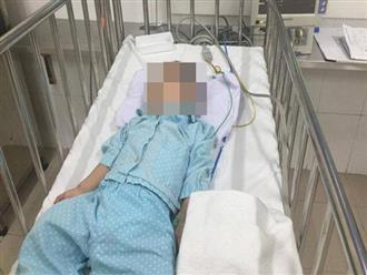Bé trai 5 tuổi bị người yêu của chị họ đánh chấn thương sọ não chỉ vì làm hỏng điện thoại