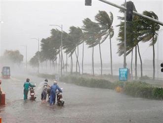 Biển Đông sắp đón áp thấp nhiệt đới có thể gây mưa dông lớn trên đất liền
