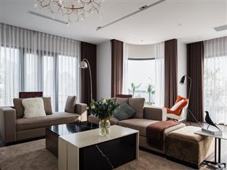 Biệt thự 378m² tạo nên dấu ấn khác biệt với vẻ đẹp hiện đại ở Hạ Long