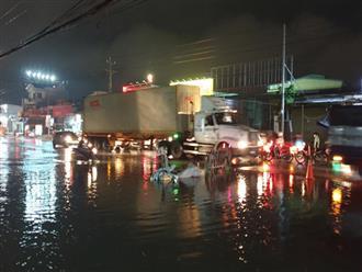 Bình Dương: Bị sụp ổ gà giữa trời mưa, bé gái 3 tuổi bị container cán chết thương tâm trong lúc cùng dì vào bệnh viện thăm mẹ