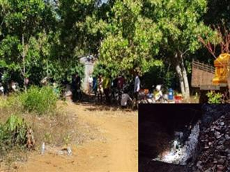 Bình Phước: Đi hái tiêu, vợ bàng hoàng phát hiện thi thể chồng cháy đen dưới hố rác