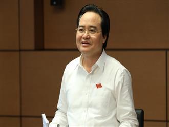 Bộ trưởng Phùng Xuân Nhạ đề xuất tổ chức kỳ thi THPT Quốc gia làm 2 đợt để phòng Covid-19