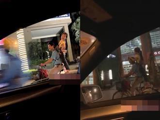 Bức ảnh gây xúc động nhất mạng xã hội hôm nay: Nụ cười lạc quan của hai bố con nhặt ve chai trên phố