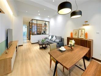 Cải tạo căn hộ 132m2 thành không gian sống hiện đại