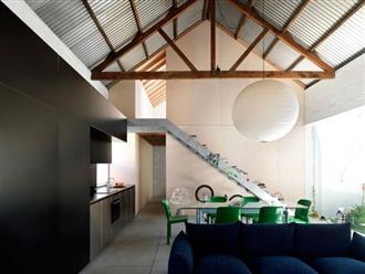 Cải tạo nhà kho cũ thành nhà cấp 4 với không gian sống đẹp hiện đại, gần gũi với tự nhiên