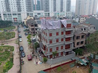 Cận cảnh biệt thự sai phép của gia đình ông Nguyễn Thanh Hóa