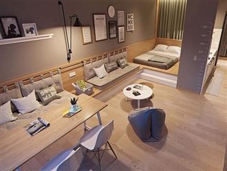 Căn hộ 60 m2 rộng rãi không ngờ nhờ bỏ tường ngăn