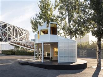 Căn nhà 15m2 thiết kế phá cách đẹp như khách sạn