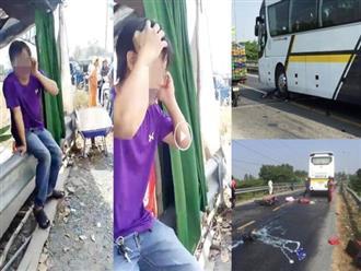 Cận Tết: Đôi vợ chồng tử vong sau va chạm với xe khách, tài xế khóc nức nở tại hiện trường