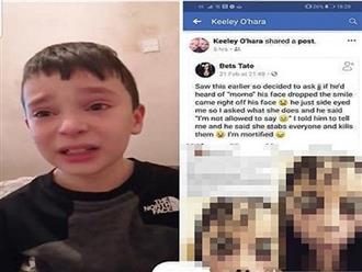 Sau khi con trai 8 tuổi đòi cầm dao tự cứa cổ, bà mẹ cảnh báo phụ huynh về thử thách tự sát đáng sợ trên Youtube xúi giục con trẻ làm liều