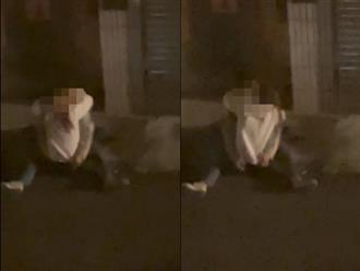 Cặp đôi bị dân mạng 'ném đá' dữ dội vì nửa đêm rủ nhau ra đường đóng 'cảnh nóng'
