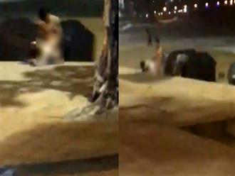 Dư luận bức xúc với cặp đôi vô tư làm 'chuyện người lớn' trên bãi biển Nha Trang