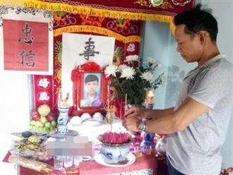 Cha nhân viên cây xăng bị sát hại ngày 30 Tết thẫn thờ nhìn bàn thờ con: 'Mong công an sớm tìm ra hung thủ để linh hồn con tôi được siêu thoát'
