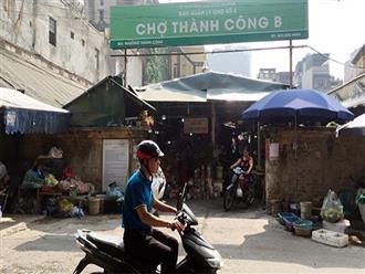 Chấm dứt các dự án biến chợ thành trung tâm thương mại