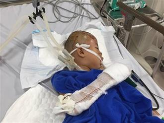 Chém gục bé trai 9 tuổi rồi dùng dao tự cắt cổ, lao xuống sông tự tử