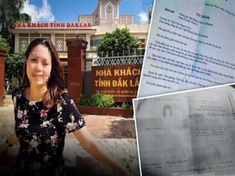 """Chị gái nữ trưởng phòng ở Tỉnh ủy Đắk Lắk nói """"hoàn toàn không biết Thảo lấy bằng cấp hay giấy tờ gì"""""""