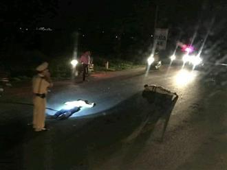 Bị tài xế xe máy đâm trực diện vào người, một chiến sĩ CSGT bị thương nhập viện