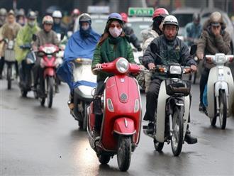 Chiều nay miền Bắc đón không khí lạnh, Hà Nội trời chuyển mưa rét