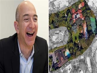 Choáng ngợp khối bất động sản khổng lồ của tỉ phú giàu nhất hành tinh