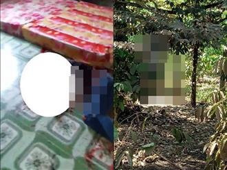 Chồng chém chết vợ rồi ra sau vườn treo cổ tự tử, bỏ lại hai đứa con nhỏ bơ vơ
