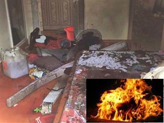 Chồng cũ nhẫn tâm phóng hỏa đốt vợ và con trai ở Sài Gòn