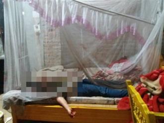 Cận Tết, chồng dùng dao cắt cổ vợ tử vong ngay trên giường, nghi do ghen tuông