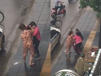 Bị bắt quả tang ngoại tình, người chồng giằng tay vợ cho nhân tình lên taxi bỏ đi gây xôn xao