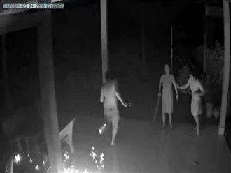 Tiền Giang: Vợ bế con về nhà bố mẹ ruột, chồng mang bom xăng ném vào nhà đe dọa